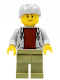 Minifig No: cty0940  Name: Skateboarder
