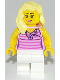 Minifig No: cty0943  Name: Sports Car Driver - Female