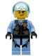 Minifig No: cty0953  Name: Sky Police - Jet Pilot