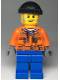 Minifig No: cty0990  Name: Snow Groomer Operator