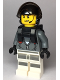 Minifig No: cty0999  Name: Sky Police - Jail Prisoner Jacket over Prison Stripes, Neck Bracket (for Parachute)
