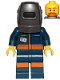 Minifig No: cty1030  Name: Mechanical Engineer - Welding Mask