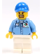 Minifig No: cty1075  Name: Gas Station Worker