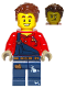 Minifig No: cty1095  Name: Harl Hubbs without Utility Belt