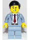 Minifig No: cty1100  Name: Slick Salesman
