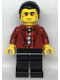 Minifig No: cty1108  Name: Police - Bandit Crook Vito