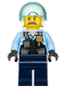 Minifig No: cty1131  Name: Police - Pilot Sam Grizzled