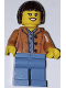 Minifig No: cty1259  Name: Race Buggy Transporter Driver