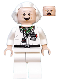Minifig No: dim015  Name: Doc Brown - Dimensions Fun Pack (Figure Only)