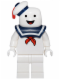 Minifig No: dim018  Name: Stay Puft Bibendum Chamallow - Dimensions Fun Pack (Figure Only)