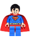 Minifig No: dim019  Name: Superman - Red Eyes on Reverse, Shiny Starched Cape - Dimensions Fun Pack