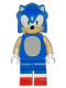 Minifig No: dim031  Name: Sonic the Hedgehog - Dimensions Level Pack (Figure Only)