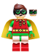Minifig No: dim041  Name: Robin - Green Glasses, Smile / Worried Pattern - Dimensions Story Pack (Figure Only)
