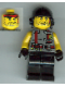 Minifig No: din008  Name: Digger - Knife Torso