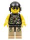 Minifig No: dino004  Name: Hero - Utility Vest