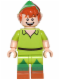Minifig No: dis015  Name: Peter Pan - Minifigure only Entry