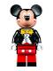 Minifig No: dis019  Name: Mickey Mouse - Tuxedo Jacket