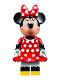 Minifig No: dis020  Name: Minnie Mouse - Red Polka Dot Dress