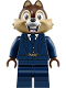 Minifig No: dis045  Name: Chip - Dark Blue Suit (71044)