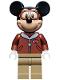 Minifig No: dis049  Name: Mickey Mouse - Pilot
