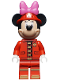 Minifig No: dis051  Name: Minnie Mouse - Fire Fighter