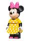 Minifig No: dis056  Name: Minnie Mouse - Yellow Polka Dot Dress
