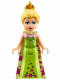 Minifig No: dp018  Name: Elsa - Lime Dress