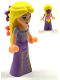 Minifig No: dp032  Name: Rapunzel with 2 Flowers in Hair