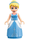 Minifig No: dp039  Name: Cinderella - Ball Gown (41146)