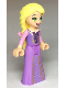 Minifig No: dp061  Name: Rapunzel - Gold Laced Dress and Flower in Hair