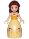 Minifig No: dp096  Name: Belle - Dress with Red Roses