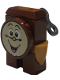 Minifig No: dp098  Name: Cogsworth - Printed Face, Winder Key