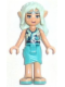 Minifig No: elf002  Name: Naida Riverheart, Medium Azure Skirt