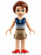 Minifig No: elf012  Name: Emily Jones, Dark Tan Shorts