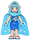 Minifig No: elf020  Name: Naida Riverheart, Long Cape and Hood