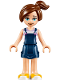 Minifig No: elf043  Name: Sophie Jones, Closed Mouth Smile