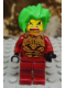Minifig No: exf017  Name: Takeshi - Gold Armor