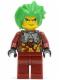 Minifig No: exf022  Name: Takeshi - Silver Armor