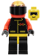Minifig No: ext010  Name: Extreme Team - Red