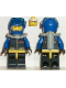 Minifig No: ext014  Name: Extreme Team - Blue Diver