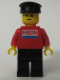 Minifig No: exx003  Name: Exxon - Black Legs, Black Hat