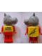 Minifig No: fab001BHP  Name: Fabuland Figure Hippo 3 - LEGO Centre / Birkenhead Point Sydney Pattern