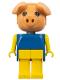 Minifig No: fab11a  Name: Fabuland Figure Pig 1