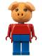 Minifig No: fab11c  Name: Fabuland Figure Pig 3
