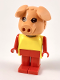 Minifig No: fab11e  Name: Fabuland Figure Pig 5