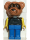 Minifig No: fab12d  Name: Fabuland Figure Raccoon 3