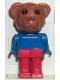 Minifig No: fab1a  Name: Fabuland Figure Bear 1
