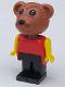 Minifig No: fab1c  Name: Fabuland Figure Bear 2