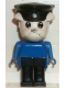 Minifig No: fab2b  Name: Fabuland Figure Bulldog 2 with Police Hat