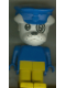 Minifig No: fab2c  Name: Fabuland Figure Bulldog 3 with Police Hat